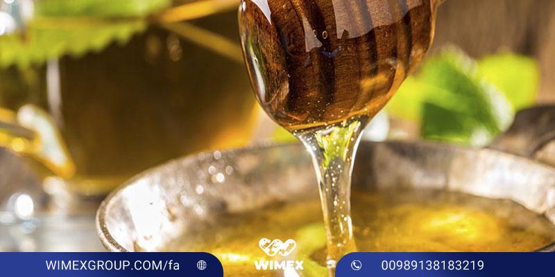 بسته بندی عسل صادراتی